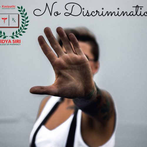 Anti-Discrimination Cell Vidya Siri College of Pharmacy