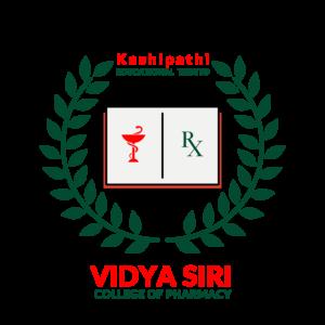 Vidya Siri College of Pharmacy Logo