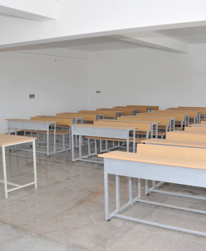 Vidya Siri College of Pharmacy Students Class Room